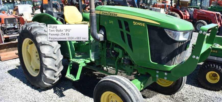 Used John Deere 5045E for sale in India